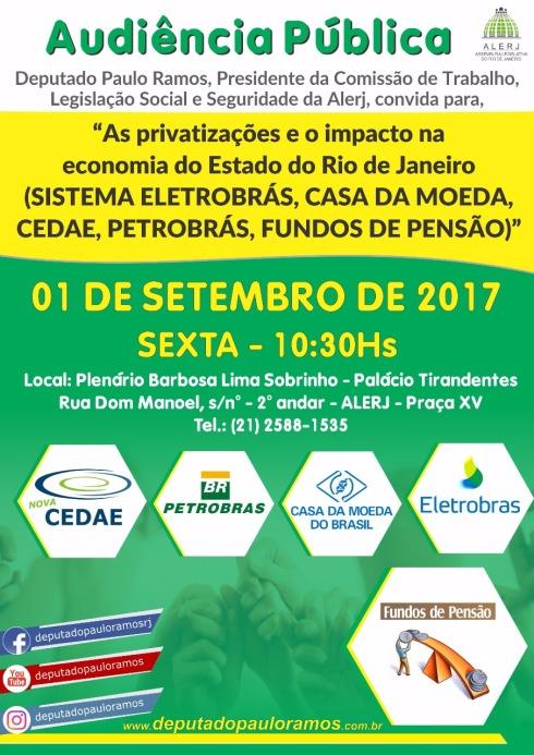 Audiência Pública - Privatizações