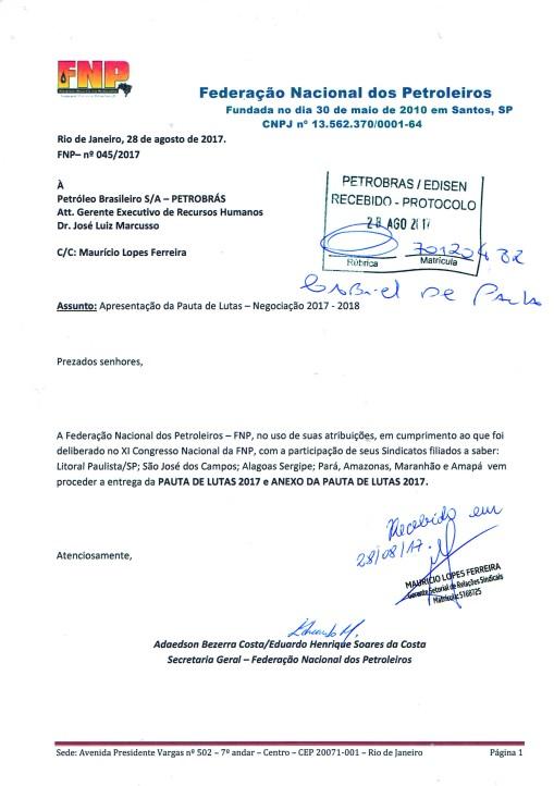 Carta FNP 045-2017